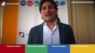 Giovanni Saponaro al ballottaggio: i ringraziamenti agli elettori