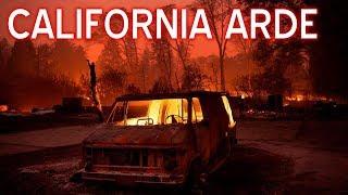 #incendios El Incendio mas grande en la historia de California Ocurre en estos momentos
