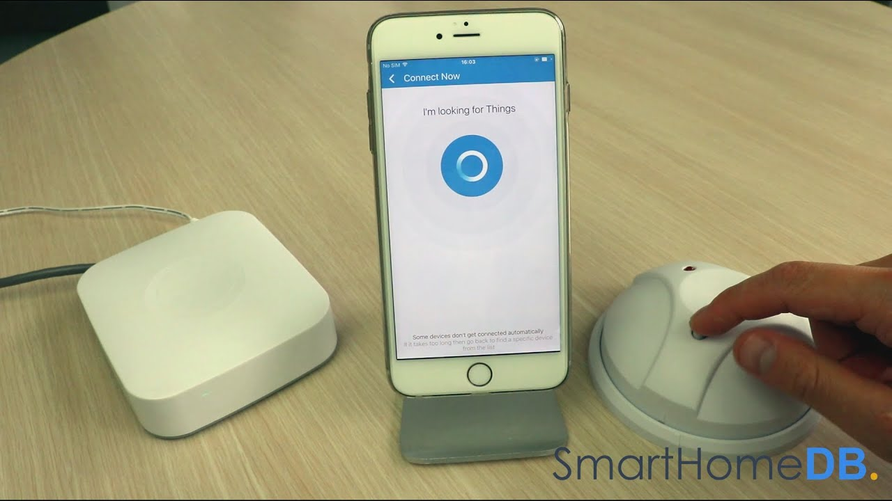 HOW-TO: Pair and Connect your Samsung SmartThings Hub with a GoControl  Glass Break Detector