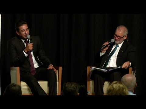 Wasim Akram in conversation with Mike Coward AM - 11th Annual LBW Trust Dinner