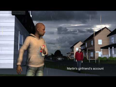 Trayvon Martin death: latest reconstruction (3/27/2012)