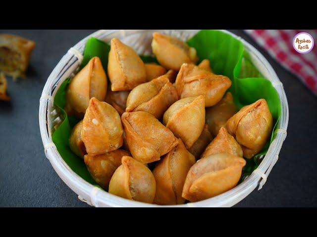 মার্বেল সিঙাড়া/মিনি সিঙ্গাড়া- সবচেয়ে সহজ পদ্ধতিতে ও সঠিক পরিমাপ সহ | Mini Singara Recipe,Aloo Samosa