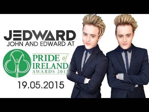 Jedward at the Pride Of Ireland Awards 2015