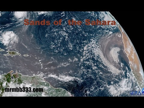 """Titanic"" Dust Storm to fill ENTIRE Gulf of Mexico - ""Sands of the Sahara"""
