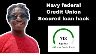 Navy Federal Credit Union Shares Secured Credit Builder Loan Hack Updated How to Guide!