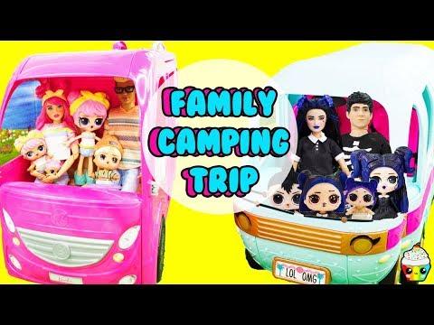 LOL Dusk Family Dawn Family Camping Trip LOL Glamper