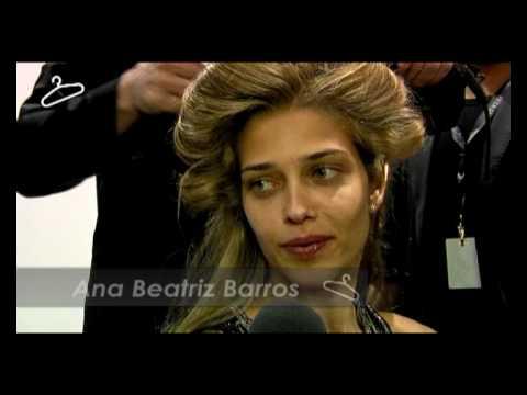 FashionNewz.nl Interviews Ana Beatriz Barros backstage at Replay FW 2010