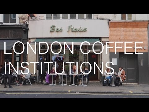 Four London Coffee Institutions