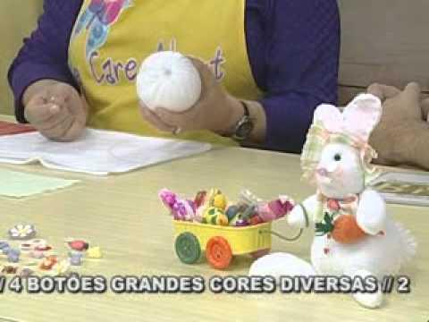 ARTE BRASIL -- LILIANA QUINTERO -- COELHINHO CARROCEIRO DE FUXICO (10/02/2011 - Parte 1 de 2)