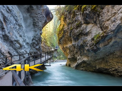 Johnston Canyon @ Banff National Park 4K 🇨🇦