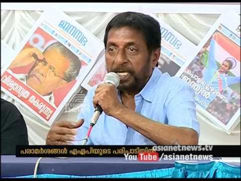 Actor Sreenivasan flays political leadership