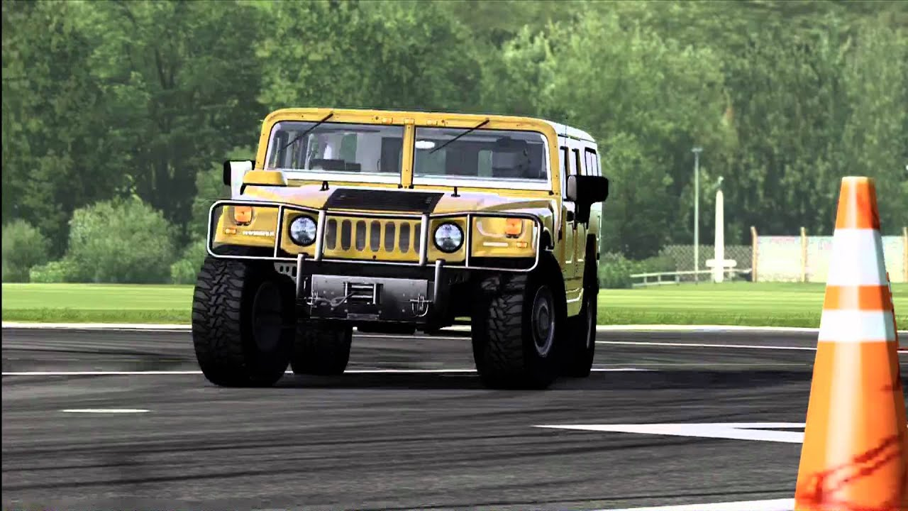 Forza Motorsport 4 Top Gear Power Laps 2006 Hummer H1 Alpha