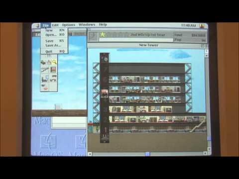 Apple Macintosh LC 630 (1994) Start Up and Demonstration