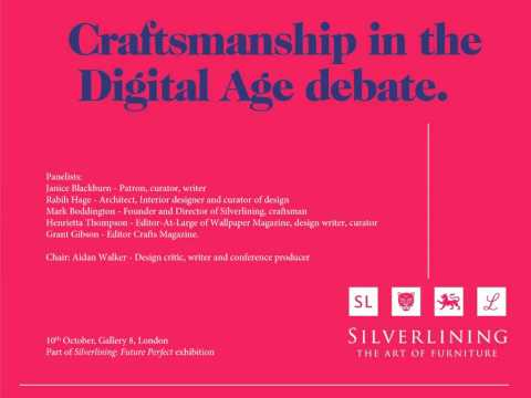 Craftsmanship in the Digital Age debate - Silverlining