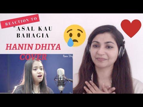 Hanin Dhiya 'Bahagia' - Armada Cover Song- Reaction Video!