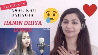 Hanin Dhiya 'Bahagia' - Armada cover song- Reaction Video!