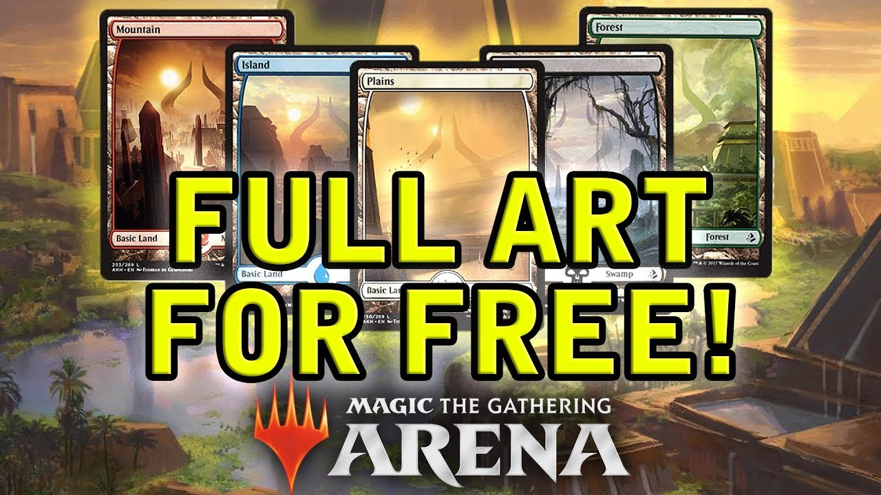 Magic Arena | How to Get FULL ART LANDS for FREE!