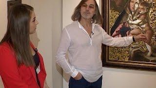 Никас Сафронов рассказал о технике Dream Vision и отношении к критике