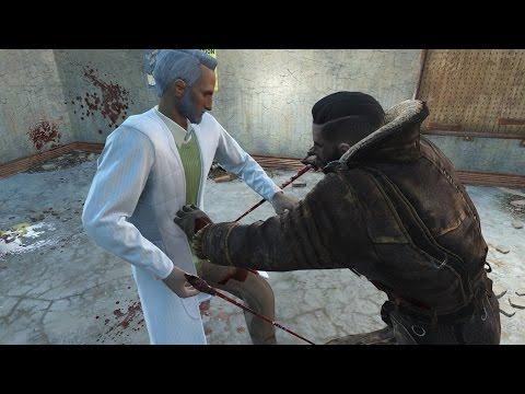 Elder Maxson vs Father  Fallout 4