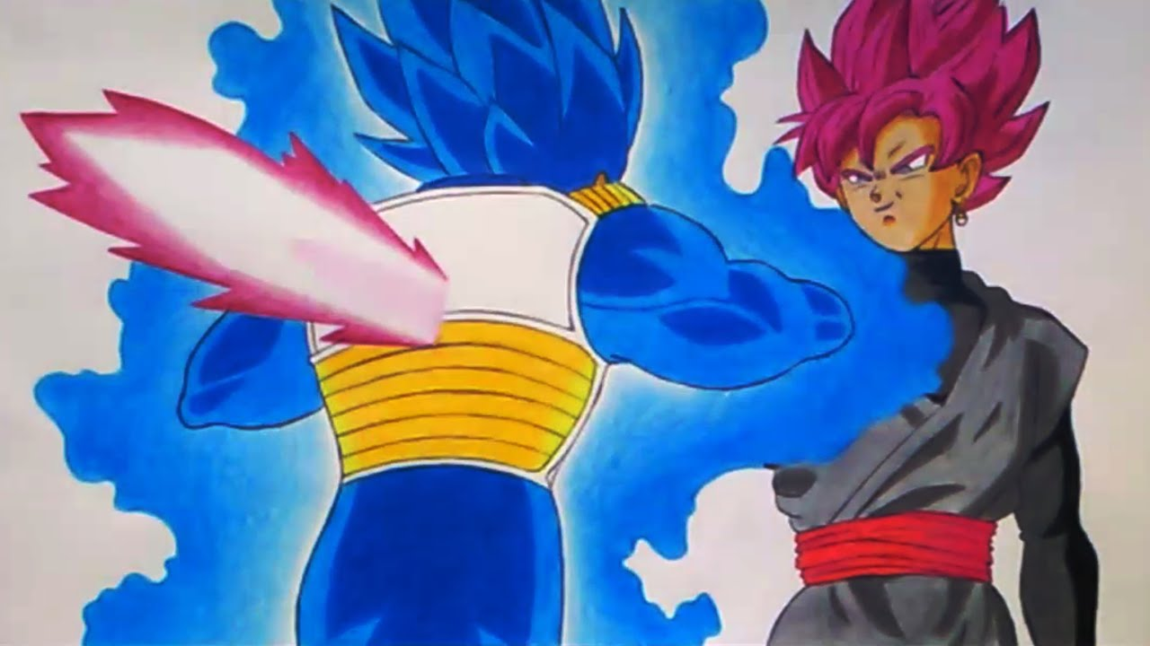 Vegeta VS Goku Black