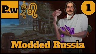 Civ 6 Modded Deity Let's Play - Peter - Russia - Earth Map - Cultural Victory - Part 1