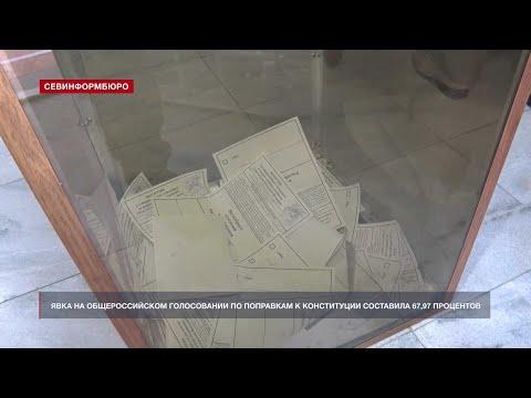 НТС Севастополь: ЦИК обработал 100% протоколов