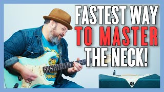 Fastest Way To Move Up And Down The Guitar Neck!