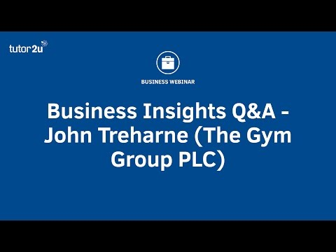 Business Insights Q&A - John Treharne (The Gym Group PLC)