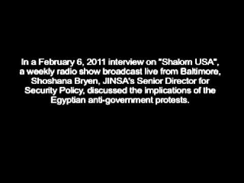 "Shoshana Bryen on ""Shalom USA"" Radio Show - Baltimore's FOX 1370, Feb. 6, 2011"