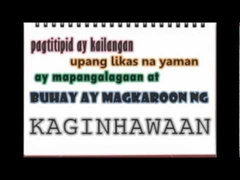 slogan kalikasan Free essays on slogan ng wika at kalikasan get help with your writing 1 through 30.