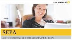 SEPA - Aus Kontonummer und Bankleitzahl wird die IBAN!