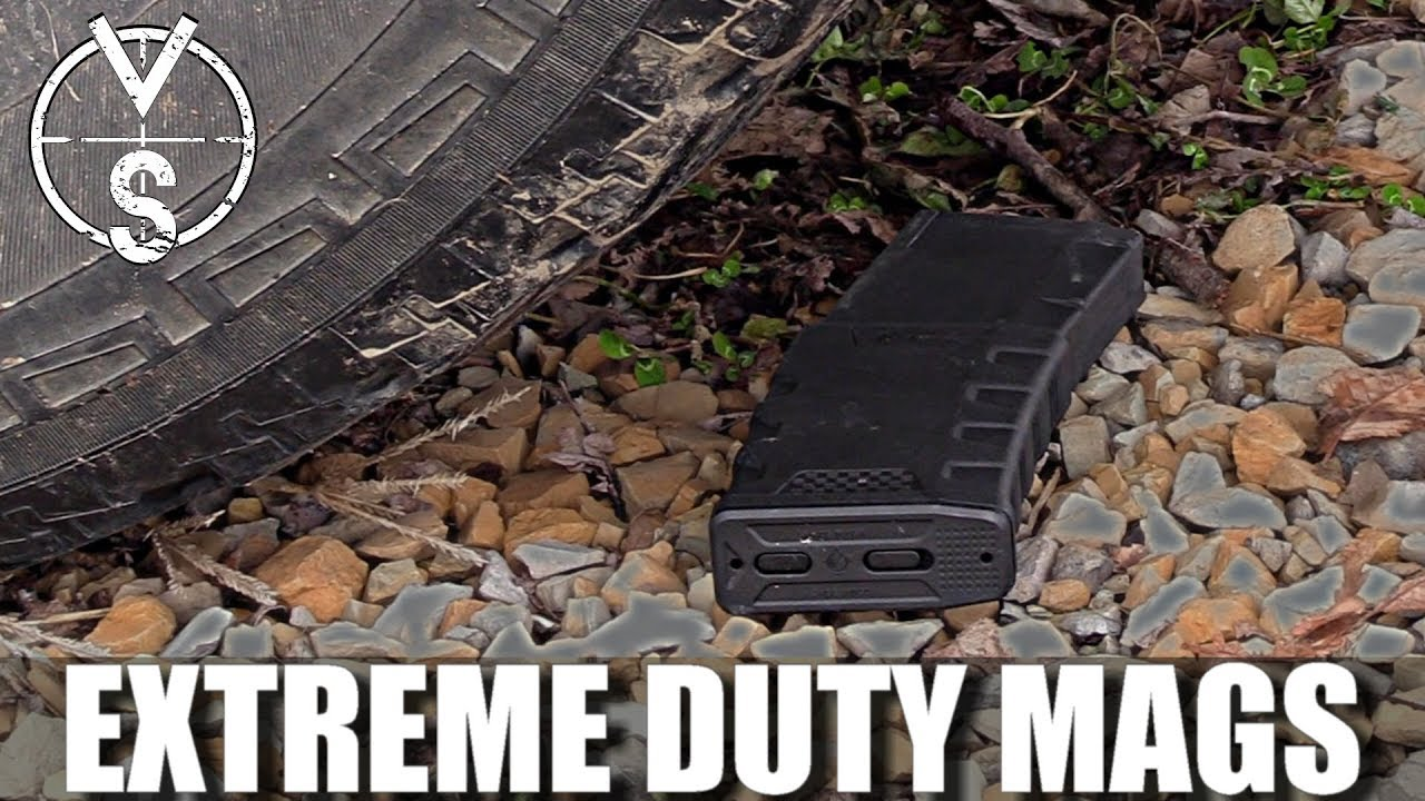 Mission First Tactical Extreme Duty Magazine Testing