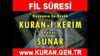 FİL Suresi - Kurani Kerim oku dinle video izle - Kuran.gen.tr