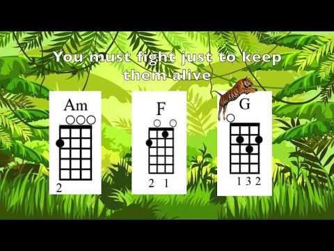 Eye of the Tiger Ukulele (In the style of Survivor)