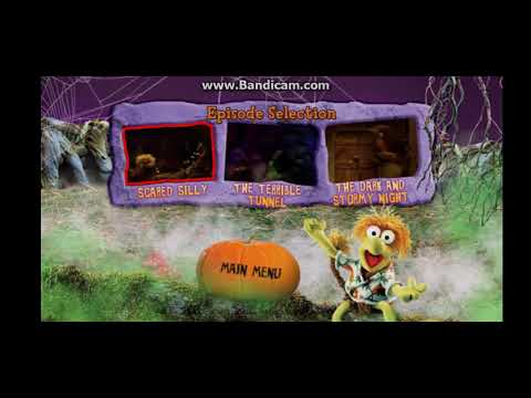 Fraggle rock: scared silly DVD menu - YouTube