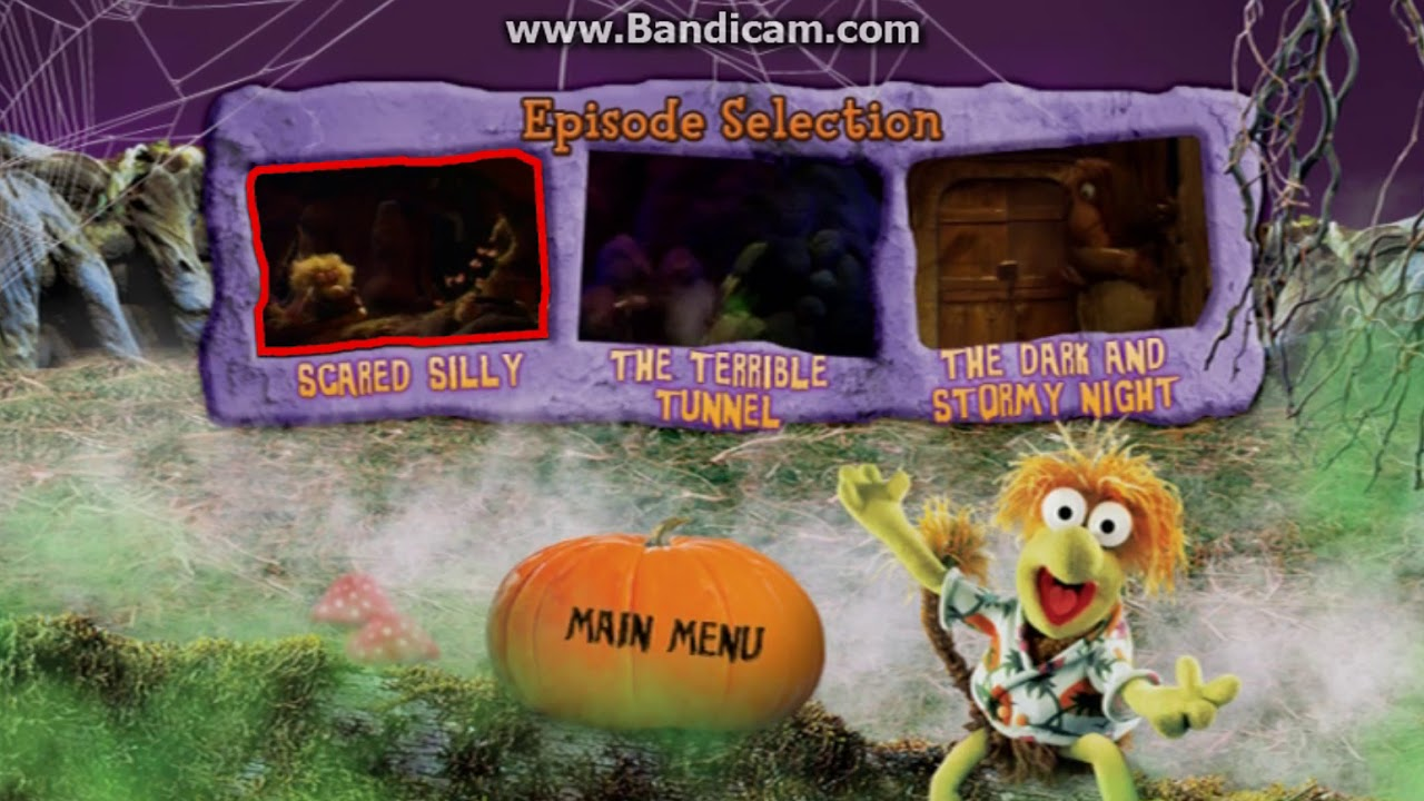 Fraggle rock: scared silly DVD menu