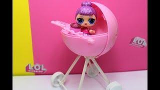 КУКЛЫ ЛОЛ. Коляска для кукол из шарика LOL Surprise. DIY