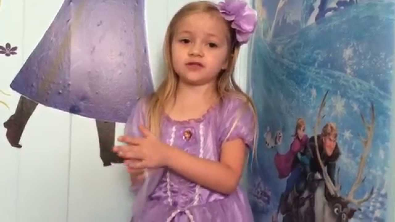 SOFIA THE FIRST costume for dress up reviewed by The Little Grimmette  sc 1 st  YouTube & SOFIA THE FIRST costume for dress up reviewed by The Little ...