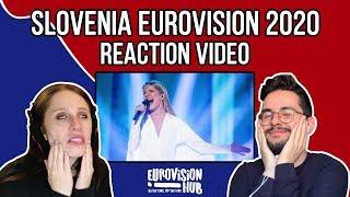 Slovenia | Eurovision 2020 Reaction | Ana Soklič - Voda