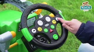 Traktor za otroke na pedala Jim Loader BIG z nakla