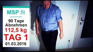 90 Tage Diät Experiment: Ist leichtes abnehmen möglich?