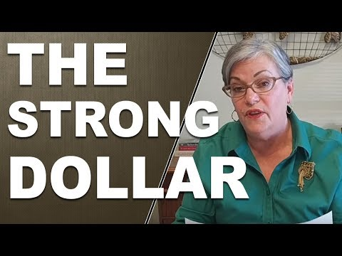 Lynette our chief market analyst talking about the strong dollar. January 18, 2017