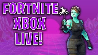 🔴 LVL 96! NEW SNOWSTRIKE SKIN! FORTNITE XBOX LIVE STREAM!