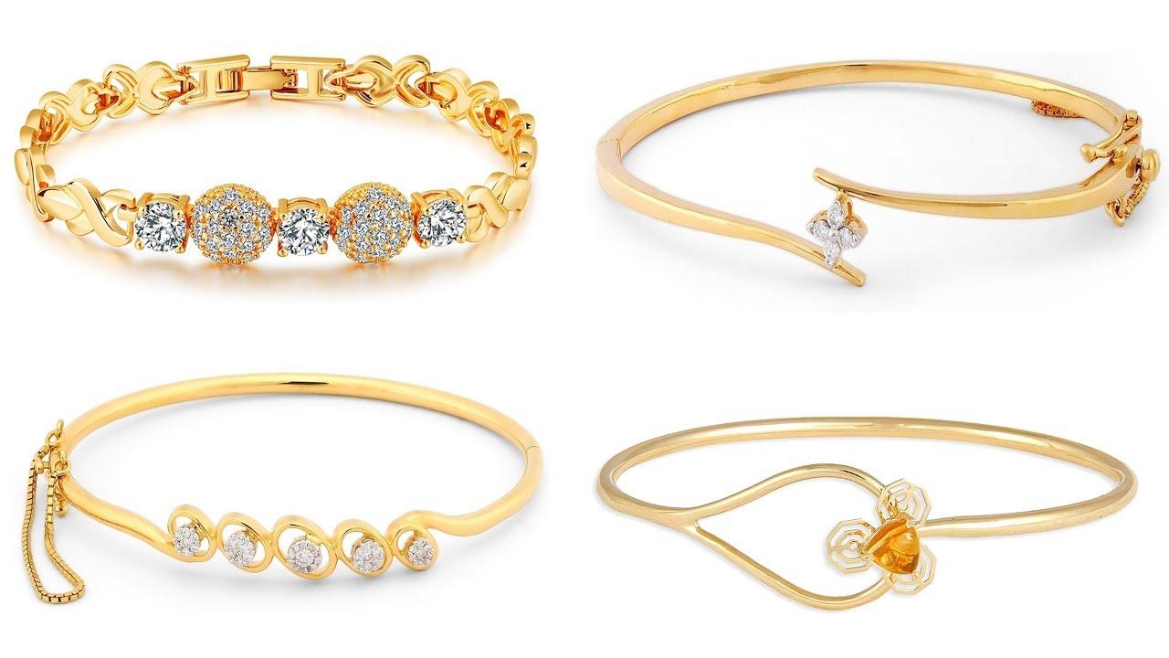 Gold Bracelet Tanishq New Designs 2018