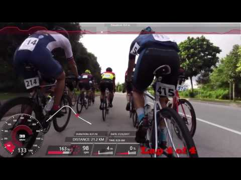 OCBC Nationals Road Race 2017, Masters - 🥉3rd SG