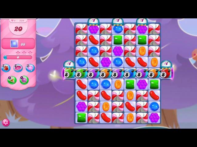 Candy Crush Saga niveau 534