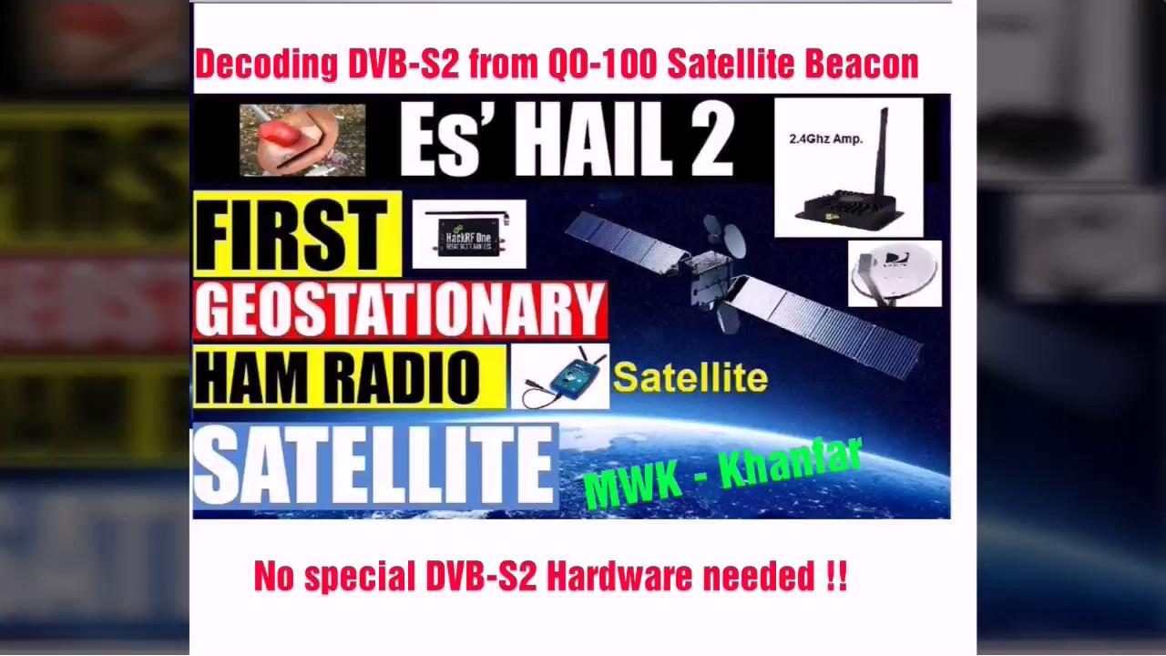 Decoding DVB-S2 using Lean DVB  RAW file record in Ubuntu Sucsess