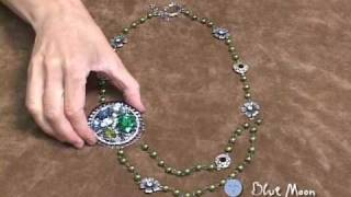 """Blue Moon Beads """"Learn How to Make a Vintage-inspired Necklace - Beading / Jewelry Video"""