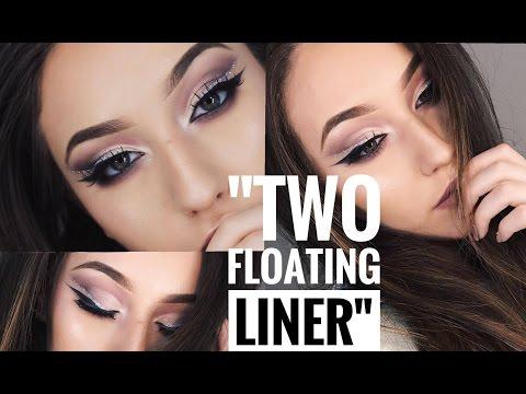 TUTORIAL DE MAQUILLAJE  '' TWO FLOATING LINER '' ✨| Melina Quiroga Makeup