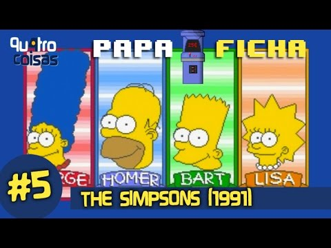 GAMEPLAY THE SIMPSONS (Longplay)  - PAPAFICHA #5 (Ft. Bryan e Nat)